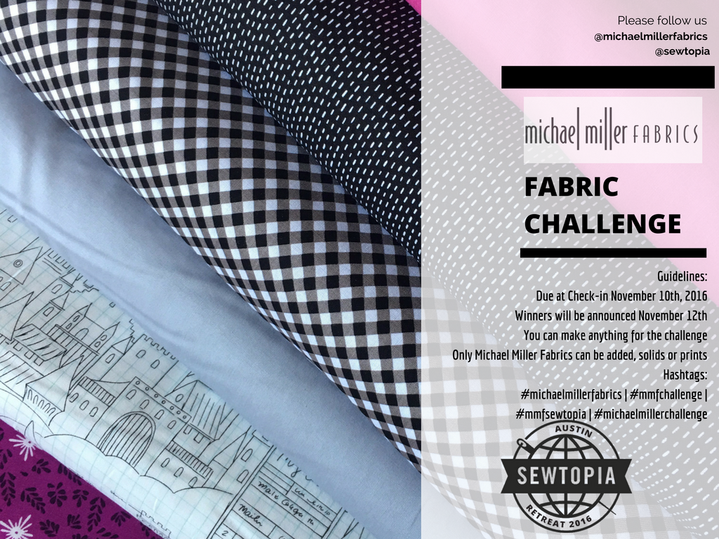 20 Sep Michael Miller Fabric Challenge