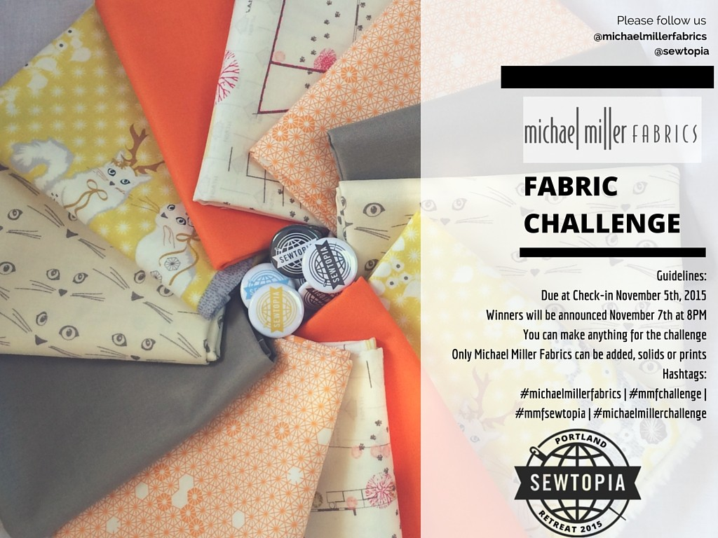 15 Sep Michael Miller Fabric Challenge
