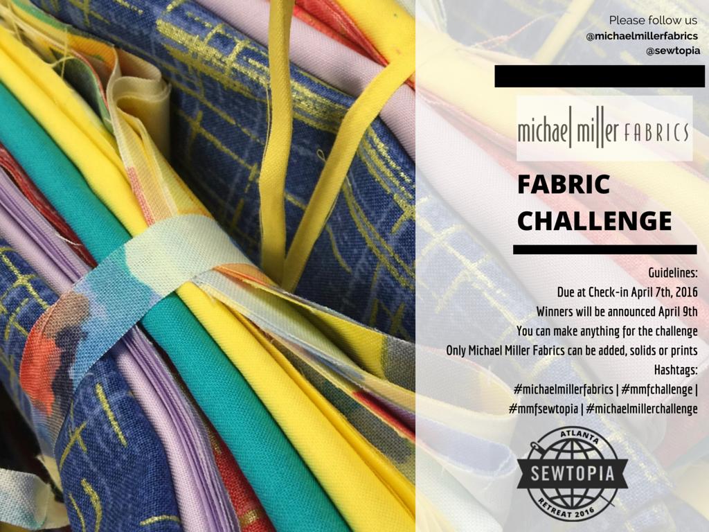 23 Feb Michael Miller Fabric Challenge
