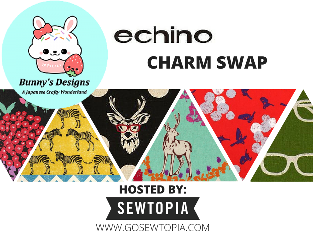 Echino Charm Swap with Bunny's Designs!