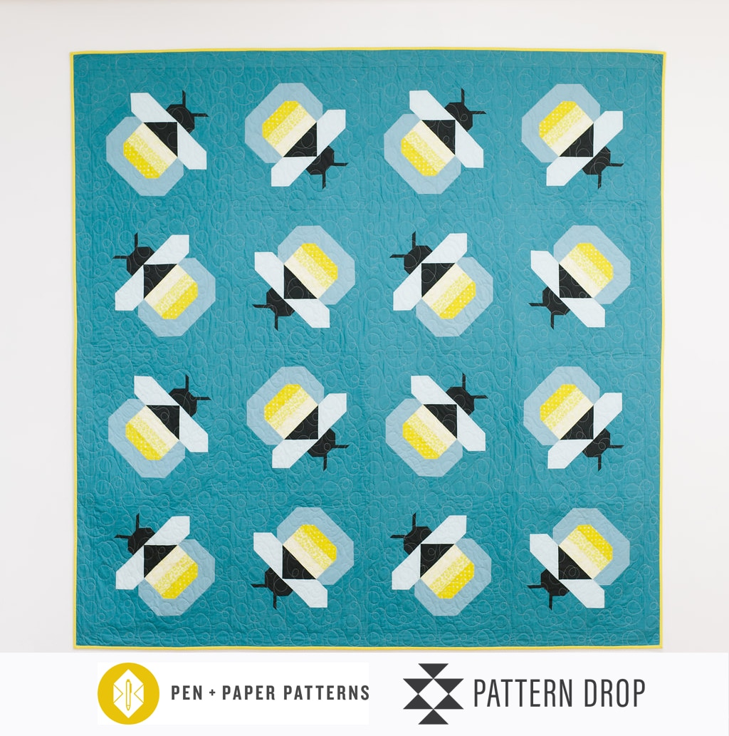pattern drop july firefly quilt kit sewtopia